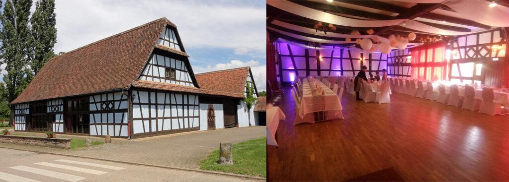 Corps de ferme, grange mariage Wickersheim-Wilshausen